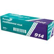 "Reynolds Wrap® PVC Film Roll w/Cutter Box, 18"" x 2000 Ft., Clear"