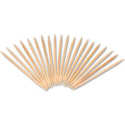 Royal RPPR820,  Round Wood Toothpicks, Natural, Plain, 19200/Carton