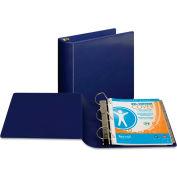 "Samsill® Top Performance DXL Angle-D View Binder, 3"" Capacity, Dark Blue"