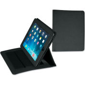 Samsill® Fashion iPad Holder for iPad Air, Debossed Pattern, Black