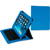 Samsill® Fashion iPad Holder for iPad Air, Debossed Pattern, Blue