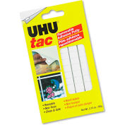 UHU® Tac Adhesive Putty, Removable/Reusable, Nontoxic, 2.12 oz, 80 pieces/Pack