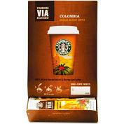 Starbucks® Colombia Medium Via Ready Brew Coffee, Regular, 0.12 oz., 50/Box