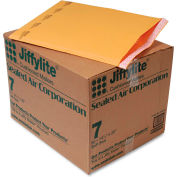 "Sealed Air Jiffylite® Self Seal Mailer, #7, 14-1/2"" x 20"", Golden Brown, 50/CTN"