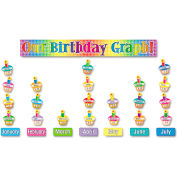 Scholastic Our Birthday Graph Bulletin Board Set