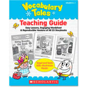 Scholastic Vocabulary Tales, 25 Books/16 Pages and Teaching Guide, Grades K-1