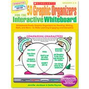 Scholastic Graphic Organizers for Interactive Whiteboard, Grades 2-5, 112 pgs, CD