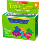 Scholastic Trait Crate, Grade 6, Six Books, Learning Guide, CD, More