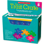 Scholastic Trait Crate, Grade 8, Six Books, Learning Guide, CD, More