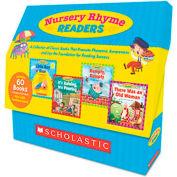 Scholastic Nursery Rhyme Readers, 60 books, teaching guide, PreK-1