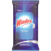 """Windex® Glass & Surface Wipes, 7"""" x 10"""", 28 Wipes/Pack, 12 Packs - 642513"""