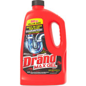 Drano® Max Gel Clog Remover, 2.5 Quart Bottle, 6 Bottles - 693772