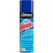 Windex® Powerized Glass Cleaner with Ammonia-D, 20 oz. Aerosol Spray, 12 Cans - 696501