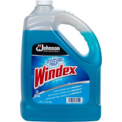 Windex Glass Cleaner with Ammonia-D, Gallon Bottle, 4 Bottles - 696503