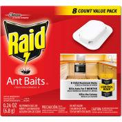 Raid® Ant Baits, 0.24 oz, 8/Box, 12 Boxes/Carton - SJN697329