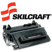 SKILCRAFT® Compatible Remanufactured (64A) Toner, 10000 Page-Yield, Black