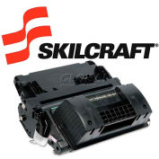 SKILCRAFT® Compatible Remanufactured High-Yield (64X) Toner, 24000 Page-Yield, Black