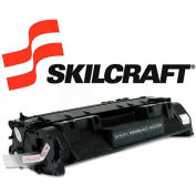 SKILCRAFT® Compatible Remanufactured CE505A (05A) Toner, 2300 Page-Yield, Black