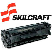 SKILCRAFT® Compatible Remanufactured Q2612A (12A) Toner, 2000 Page-Yield, Black
