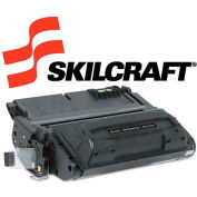 SKILCRAFT® Compatible Remanufactured Q5942A (42A) Toner, 10000 Page-Yield, Black