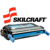 SKILCRAFT® Compatible Remanufactured Q5951A (643A) Toner, 10000 Page-Yield, Cyan