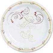 "SOLO® HP9S-J8001, Symphony Paper Plates, 9"" Dia., Tan, 125/Pack"