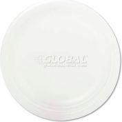 Plate,9in,Foam,125/Pk,White