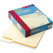Smead® File Folders, 1/3 Cut Third Position, One-Ply Top Tab, Letter, Manila, 100/Box