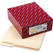 Smead® Reinforced Tab Manila File Folder, 1/3 Cut Top Tab, Letter, 100/Box