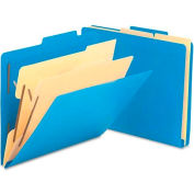 """Smead® 2-1/2"""" Expansion Heavy-Duty Poly Classification Folders, Letter, 10/Box"""