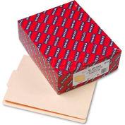 Smead® Folders, 1/3 Cut Center Position, Reinforced End Tab, Letter, Manila, 100/Box