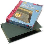 "Smead® 2"" Capacity Box Bottom Hanging File Folders, Legal, Green, 25/Box"