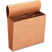 Smead® Jan-Dec Indexed Accordion Expanding Files, 12 Pockets, Kraft, Letter, Brown