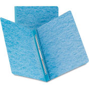 Smead® Side Opening Pressboard Report Cover, Prong Fastener, Letter, Blue