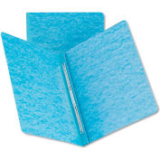 Smead® Side Opening PressGuard Report Cover, Prong Fastener, Letter, Blue
