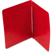 Smead® Side Opening PressGuard Report Cover, Prong Fastener, Letter, Bright Red