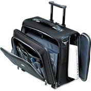 Samsonite® Side Loader Office Laptop Case, Nylon, 17-1/2 x 17-1/2 x 15, Black