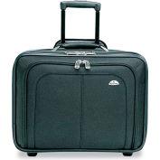 Samsonite® Mobile Office Notebook Case, Nylon, 17-1/2 x 9 x 14, Black