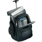 Samsonite® Wheeled Backpack, 14 x 8 x 21, Black/Charcoal