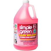 simple green® Clean Building Bathroom Cleaner Conc Unscented, Gallon Bottle 2/Case - SMP11101CT