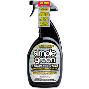 simple green® Stainless Steel One-Step Cleaner & Polish, 32oz Trigger Bottle 1/Case - SMP18300