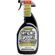 Simple Green® Stainless Steel Cleaner & Polish, 32oz. Trigger Spray Bottle - 18300