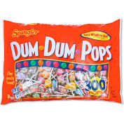 Dum Dum Pops, Assorted Flavors, Individually Wrapped, 300/Pack
