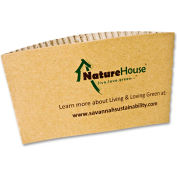 NatureHouse® Hot Cup Sleeves, Fits 8-oz Cups, 50/Pack