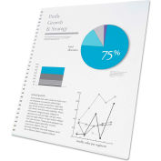 Swingline™ GBC® ProClick Presentation Paper, 8-1/2 x11, White, 250 Sheets