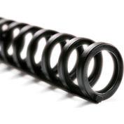 "Swingline™ GBC® ProClick Easy Edit Spines, 1/2"" Diameter, 85 Sheet Capacity, Black, 25/Pk"
