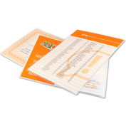 Swingline™ GBC® Laminating Pouches, 3 mil, 9 x 11 1/2, 100/Box