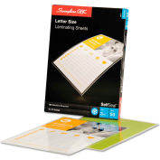Swingline™ GBC® SelfSeal Letter-Size Laminating Sheets, 3 mil, 9 x 12, 50/Pack
