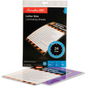Swingline™ GBC® SelfSeal Repositionable Laminating Sheets, 3mm., 9 x 12, 10/Pack