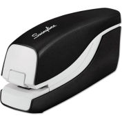 Swingline® Breeze Automatic Stapler, 20 Sheet/105 Staple Capacity, Black/White